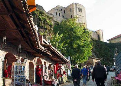 Der Basar in Kruja