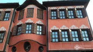 Fassadenornamente in Plovdiv