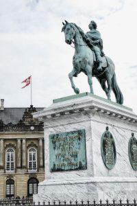 Reiterstandbild von Frederik V. in Kopenhagen