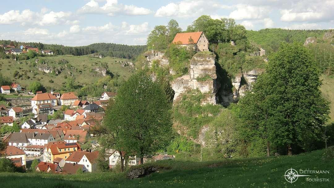 Burg Pottenstein aus südlicher Sicht