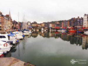 Der alte Hafen in Honfleur