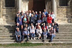 """Die Reisegruppe """"Gemeinsam unterwegs"""" der Pfarrgemeinde St. Ludgerus Borken"""