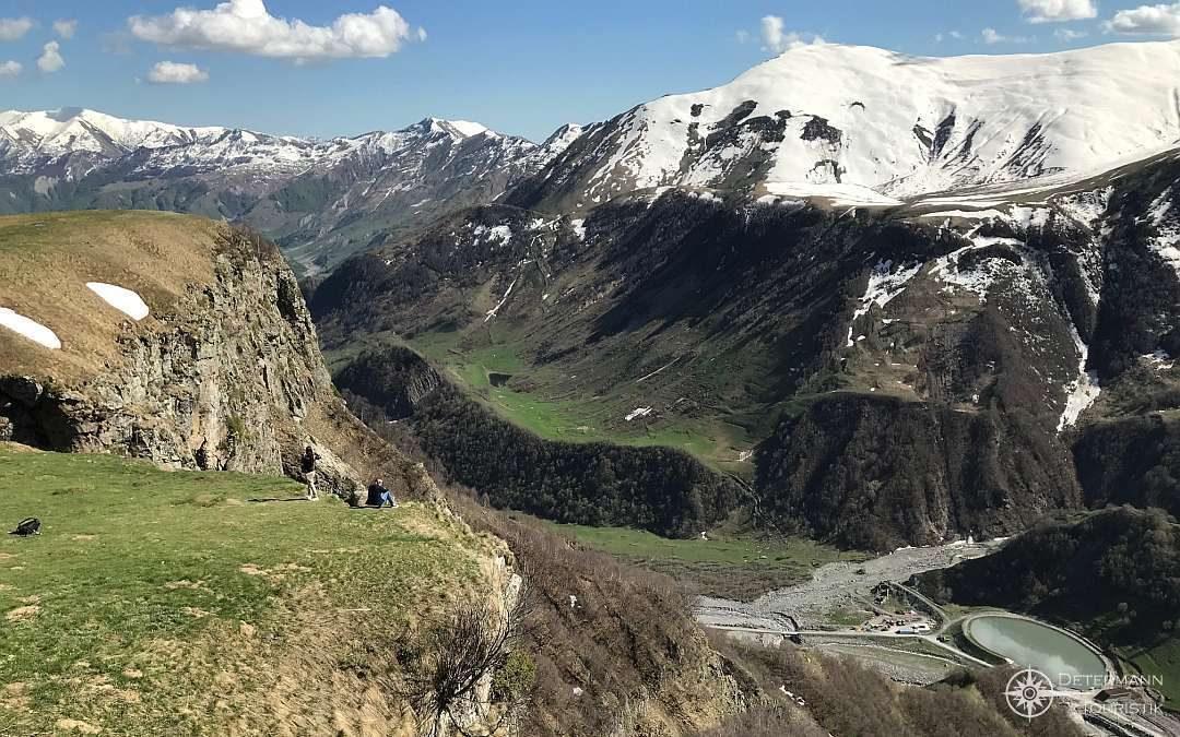 Atemberaubender Ausblick im Kaukasus