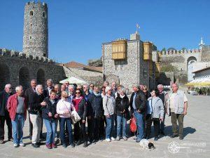 Gruppenbild auf der Festung Achalziche