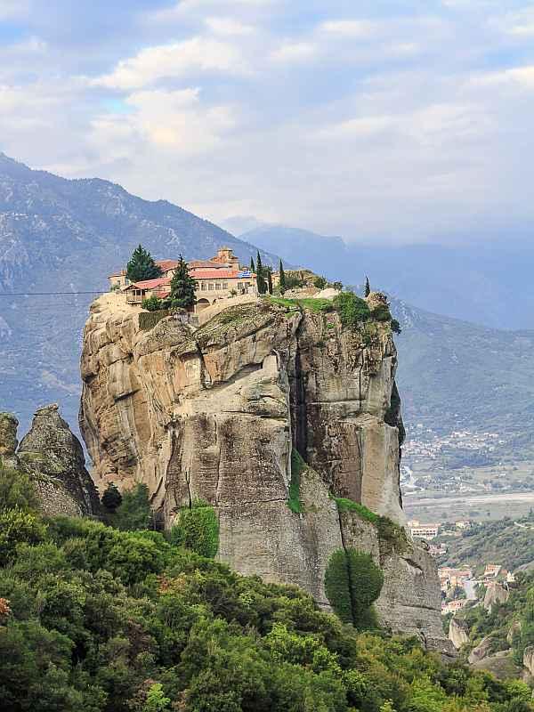 Meteora Kloster bei Kalambaka in Griechenland (Foto: Wilhelm W. Koehler)
