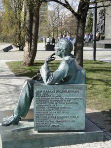 Denkmal für Jan Karski