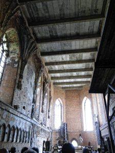 Die Marienkirche der Ordensburg Marienburg