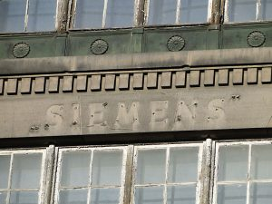 Ehemaliger Firmensitz der Firma Siemens in Łódź