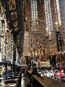 Hochaltar von Veit Stoss in der Marienkirche in Krakau