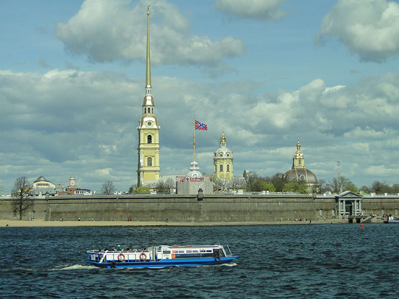Peter- und Paul-Festung in Sankt Petersburg